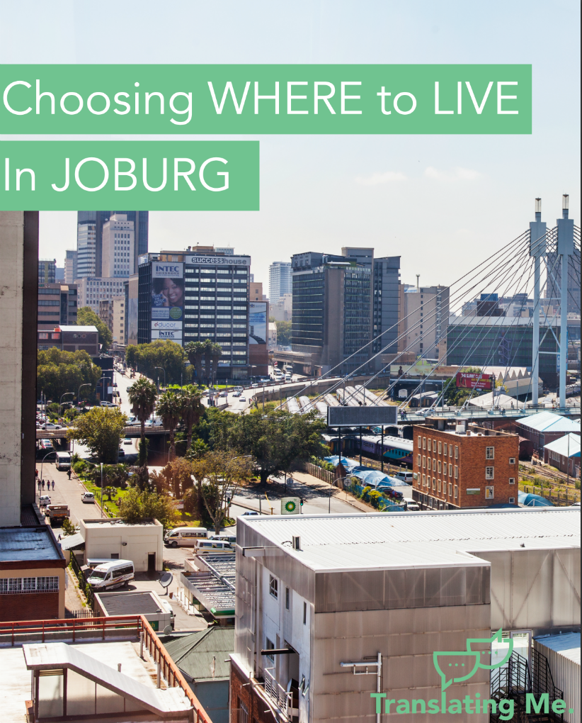 where to live in Johannesburg,
