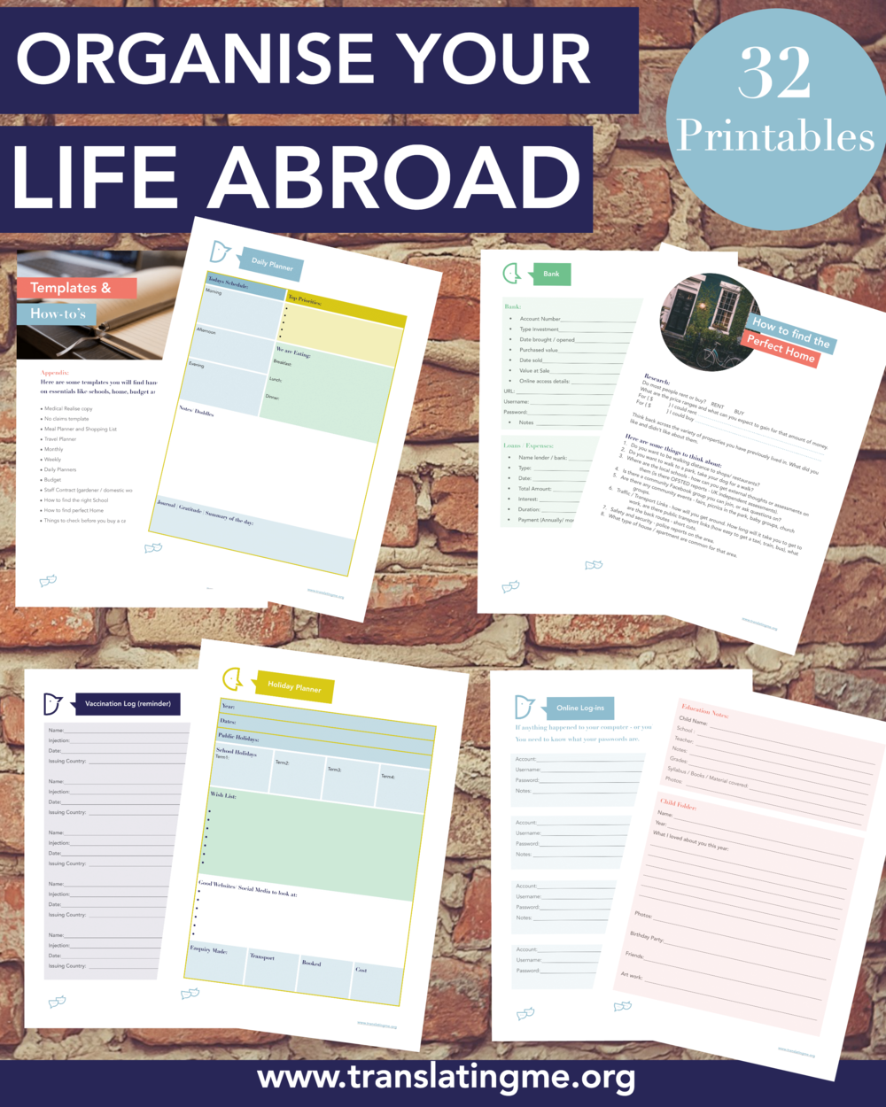 Organise expat life, expat life abroad