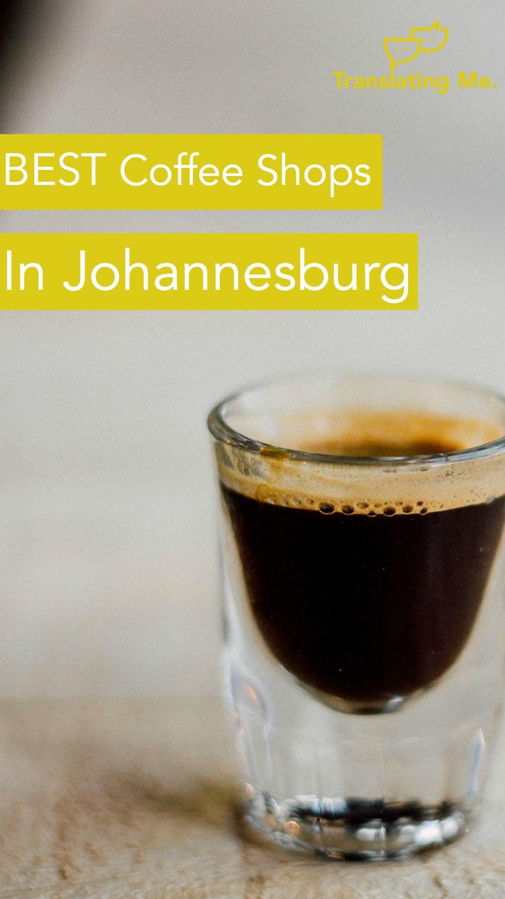 best coffee in Johannesburg