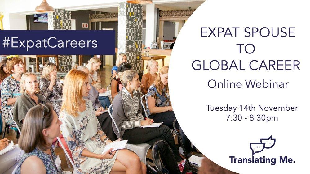 Expat career