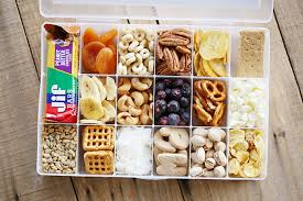 Healthy snacks - Healthy snacks will keep you focused on the road!