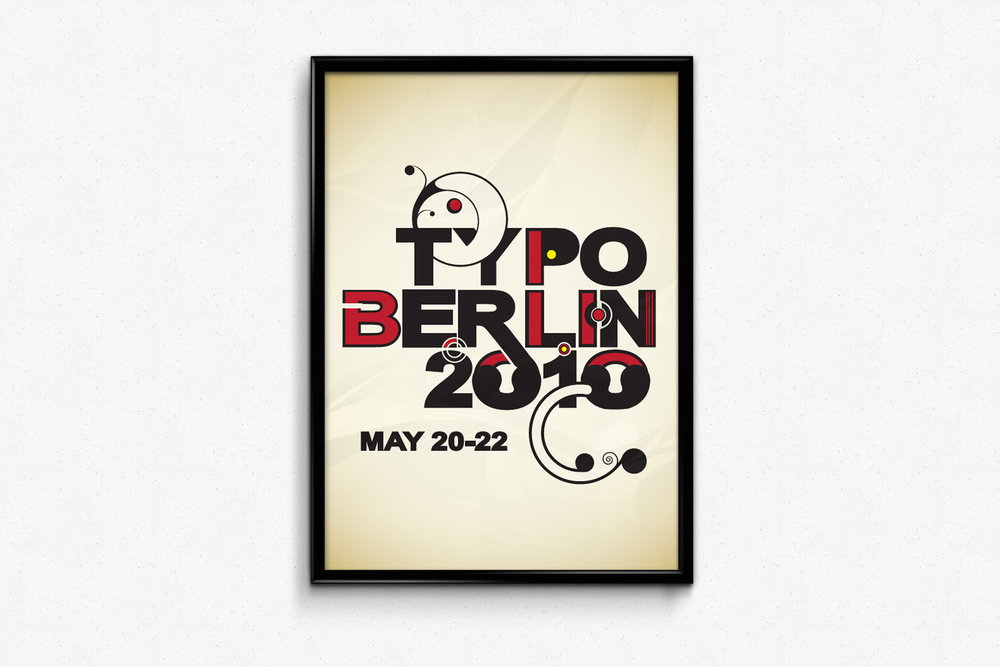 Conceptual layout for Typo Berlin