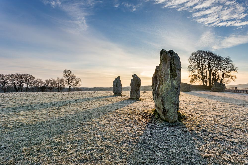 Avebury on a cold morning