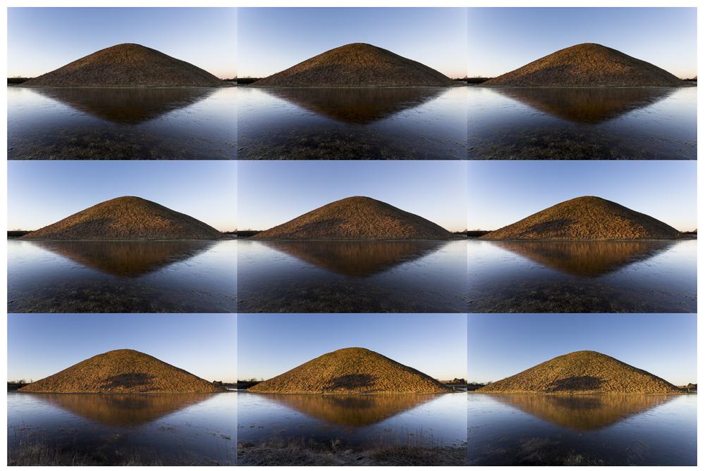 One of a million sunrises, Silbury Hill