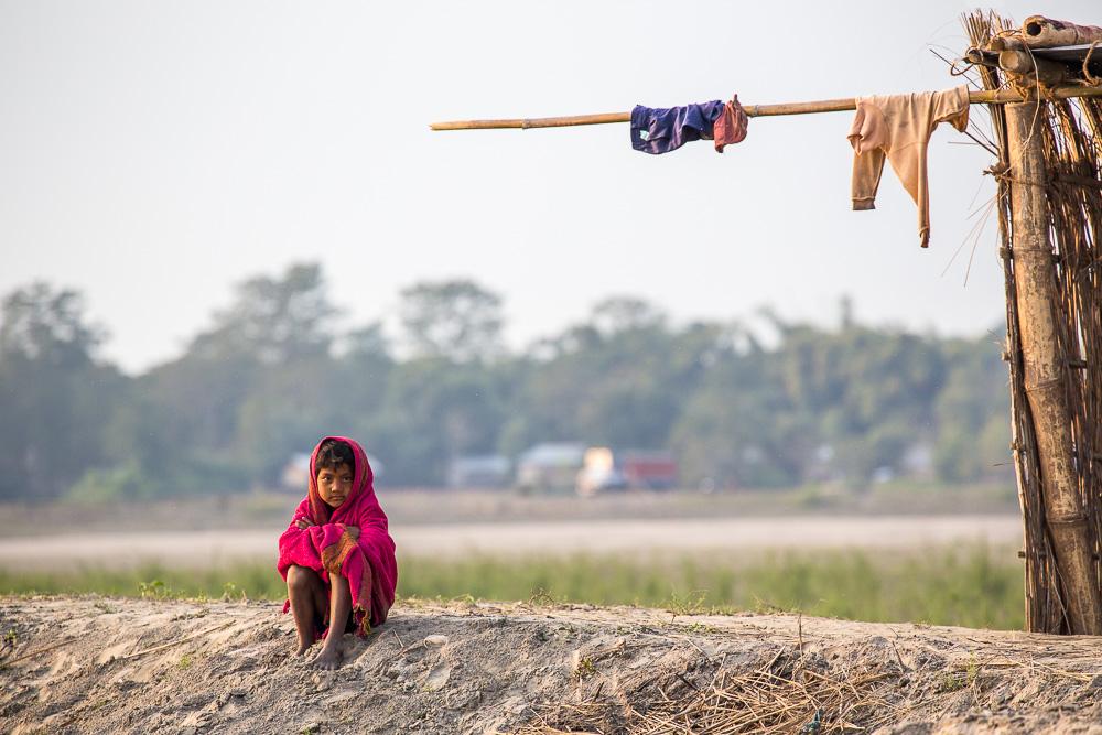 By the Brahmaputra River, Assam