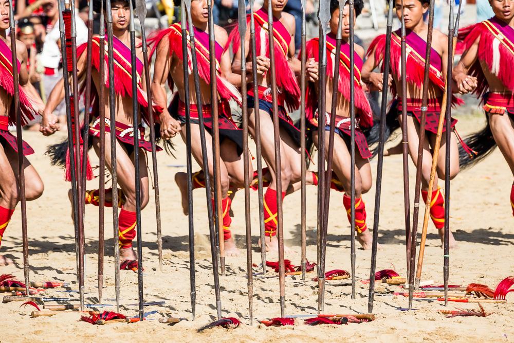 At the Hornbill Festival, Kohima, Nagaland