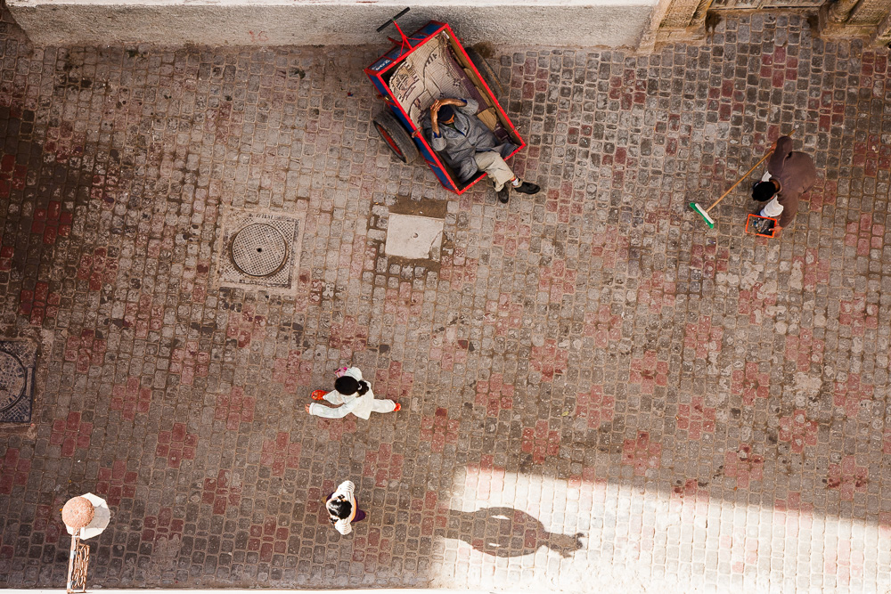 From the riad roof, Essaouira, Morocco