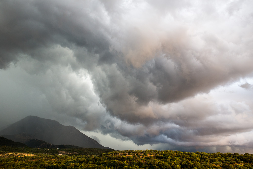 Storm over the Peloponnese, Greece, part 2