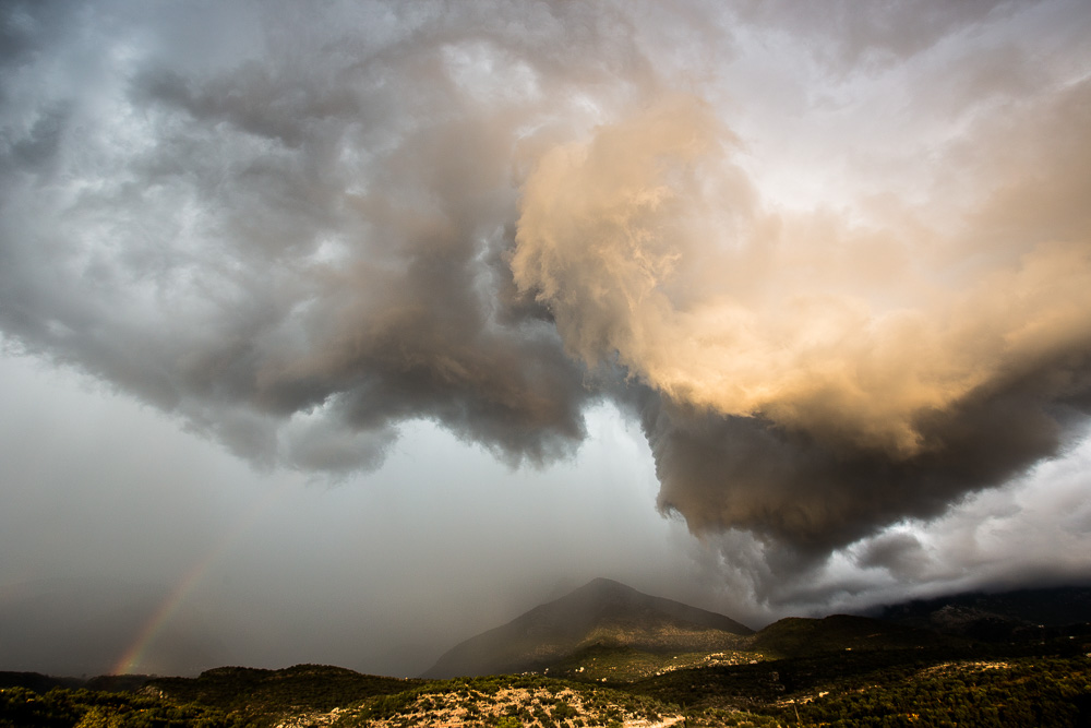 Storm over the Peloponnese, Greece, part 1