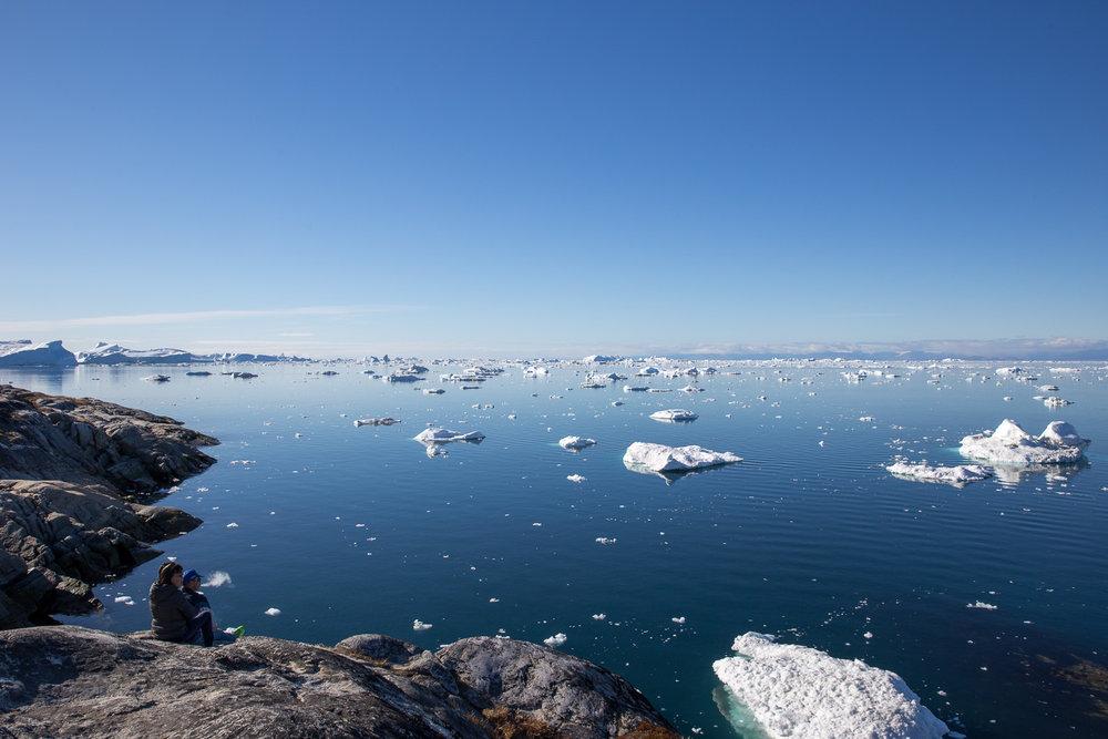 Surveying the Illulissat Icefjord, Greenland