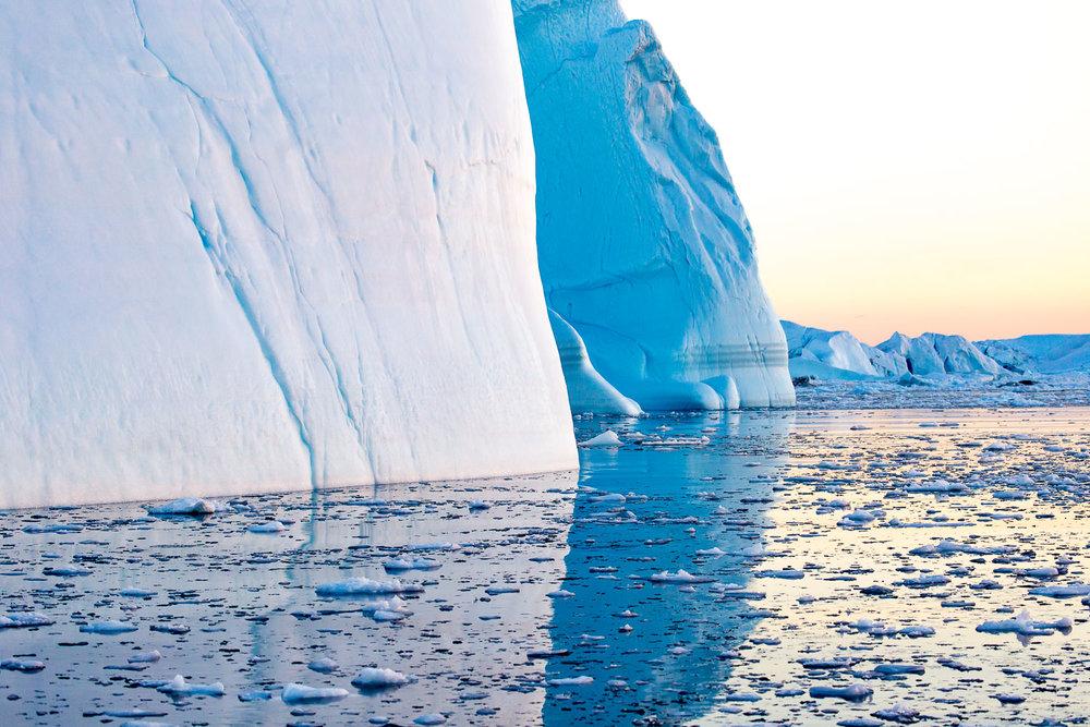 Iceberg in the Illulissat Icefjord, Greenland