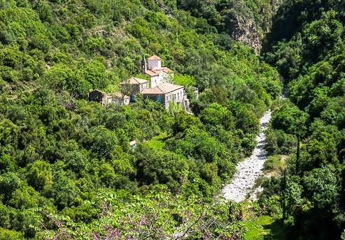 53 photographs of a walk From the Sotiros Monastery to Agia Sophia In the Peloponnese, Greece During April 2016 -