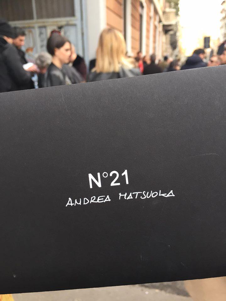 N21 2016FW ランウェイ