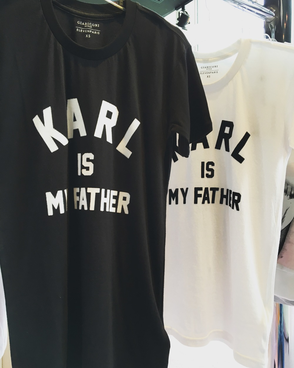 ELEVEN PARIS | Karl is my father tee