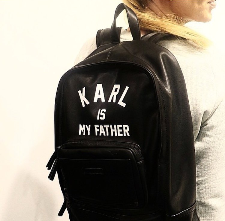 Eleven Paris | KARL is my father backpack | イレブンパリ  リュック |