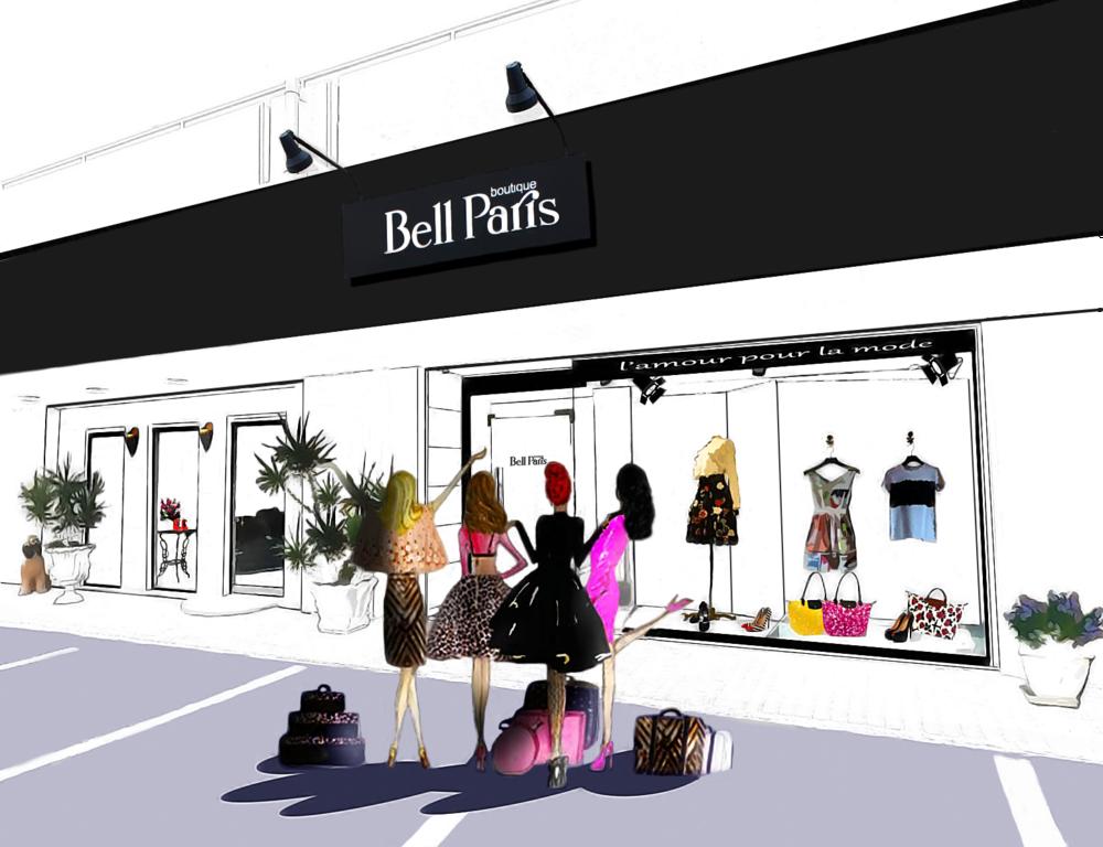 移転先 - いつもありがとうございます!この度、支店Hoodie Dressが9月から本店boutique Bell Parisの中に移転致します╰(*´︶`*)╯♡コモスクエアでの営業は8月31日(金)までとなっております(๑˃̵ᴗ˂̵)