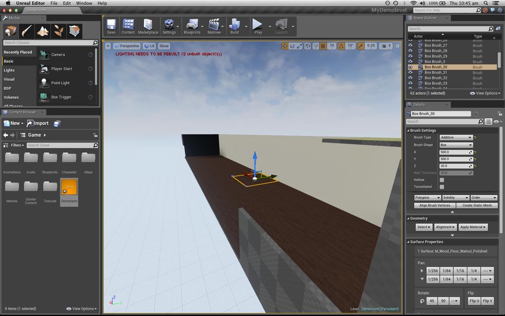 Levelbuilding