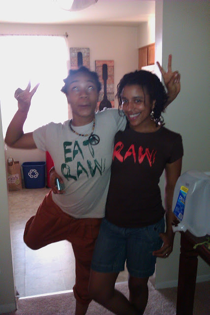 Brooke and Johnee' repping RAW!