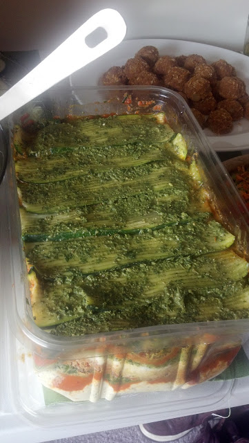 Let us never forget this delicious RAW Vegan Lasagna. This was the life of the party!