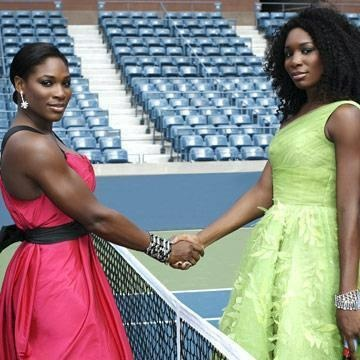 Venus and Serena Williams - born June 17, 1980 and September 26, 1981