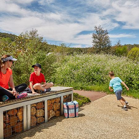 Project: Whitby Falls Access Walk Location: Perth / Australia Coverage: Landscape