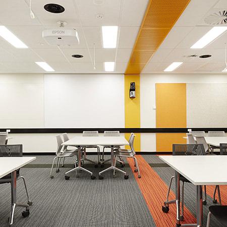 Project: Curtin University CATS Location: Perth / Australia Coverage: Interior