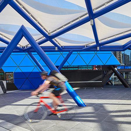 Project: Perth Arena Location: Perth / Australia Coverage: Exterior / Landscape