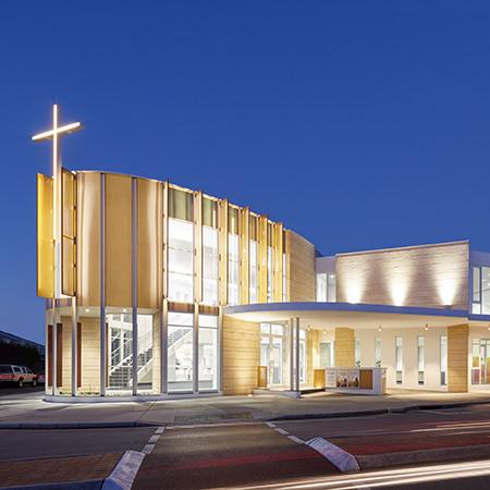 Project: Subiaco Church Location: Perth / Australia Coverage: Exterior