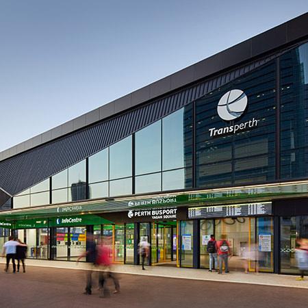 Project: Perth Busport Location: Perth / Australia Coverage: Interior / Exterior