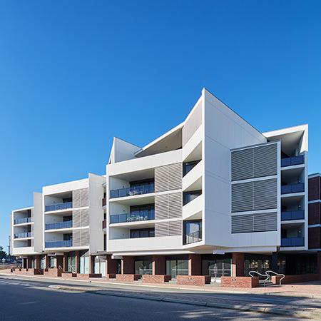 Project: North One Subiaco Location: Perth / Australia Coverage: Exterior