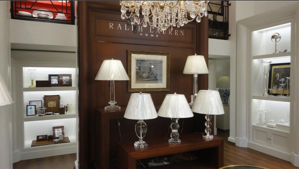 Ralph Lauren Lighting Store