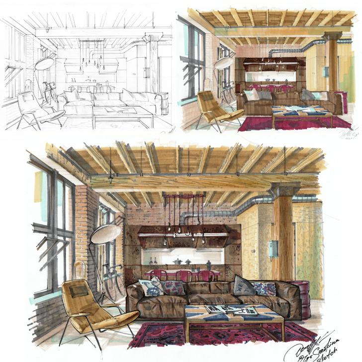hand renderings  u0026 sketches  u2014 olgaart888
