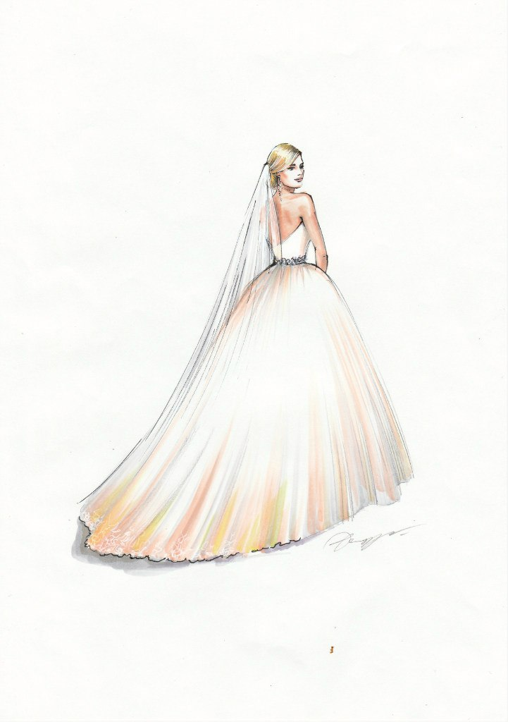 My drawings for danish designer Rikke Gudnitz