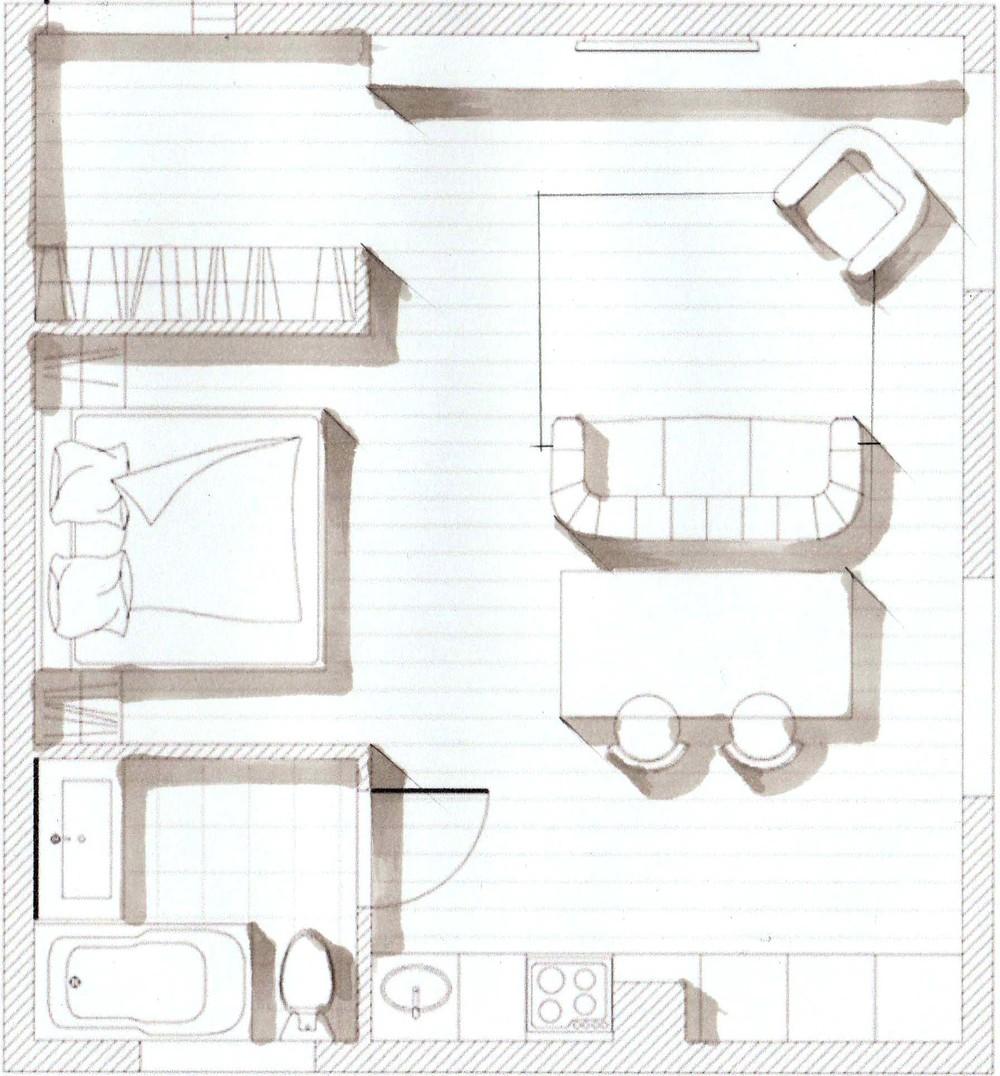 Что такое скетч скетчинг план скетч-план квартиры