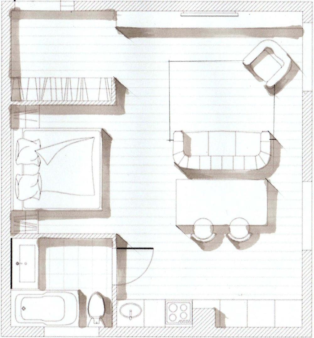 Interior Sketching With Markers Ecourse For Beginners By Olga Sorokina Olgaart888