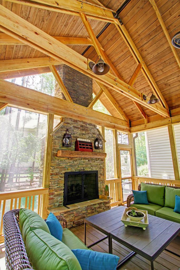 Outdoor Living Area, Lake Wylie, SC, Nik Radovanovic, G&H Architect Builders