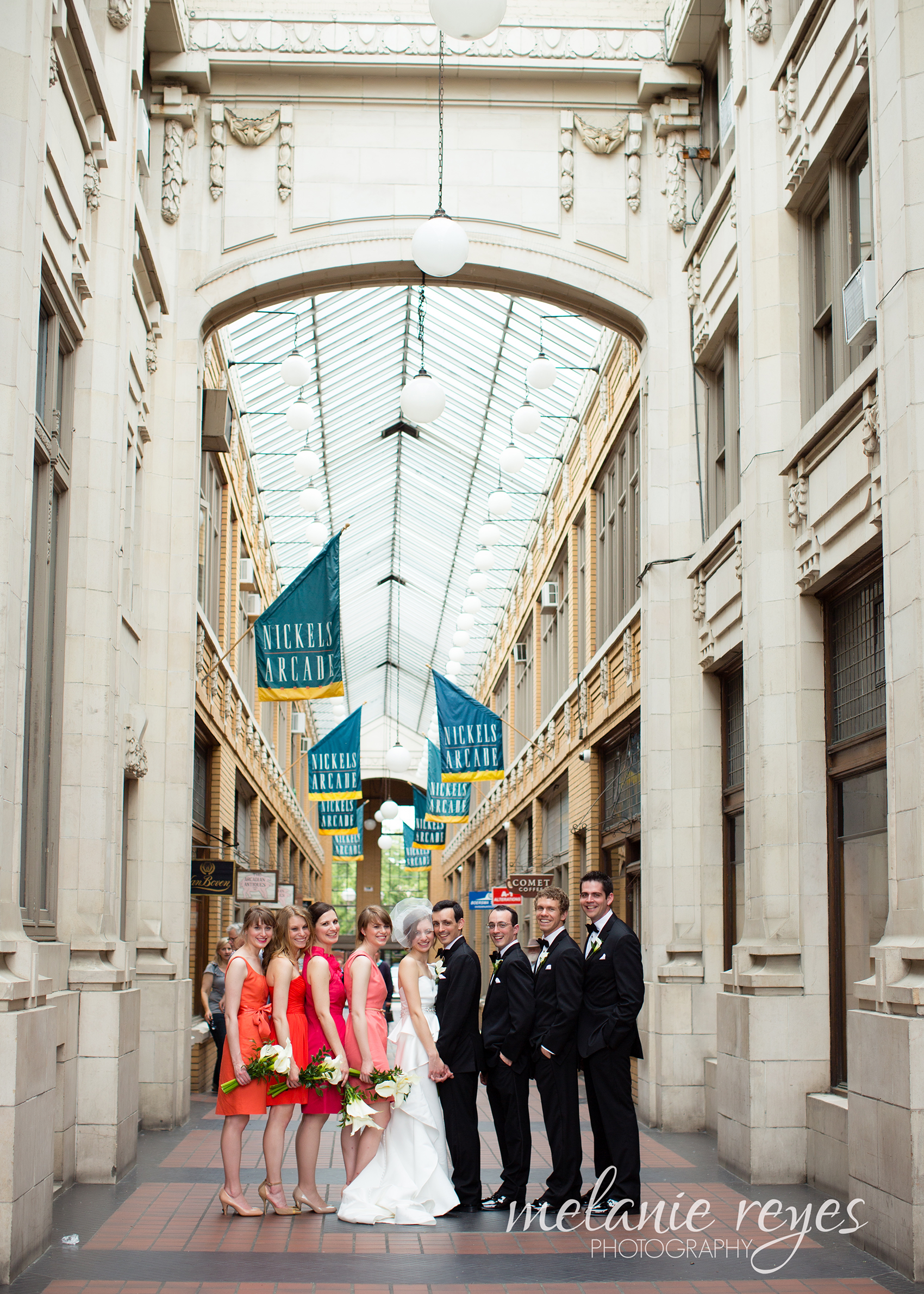 Wedding Nichols Arcade