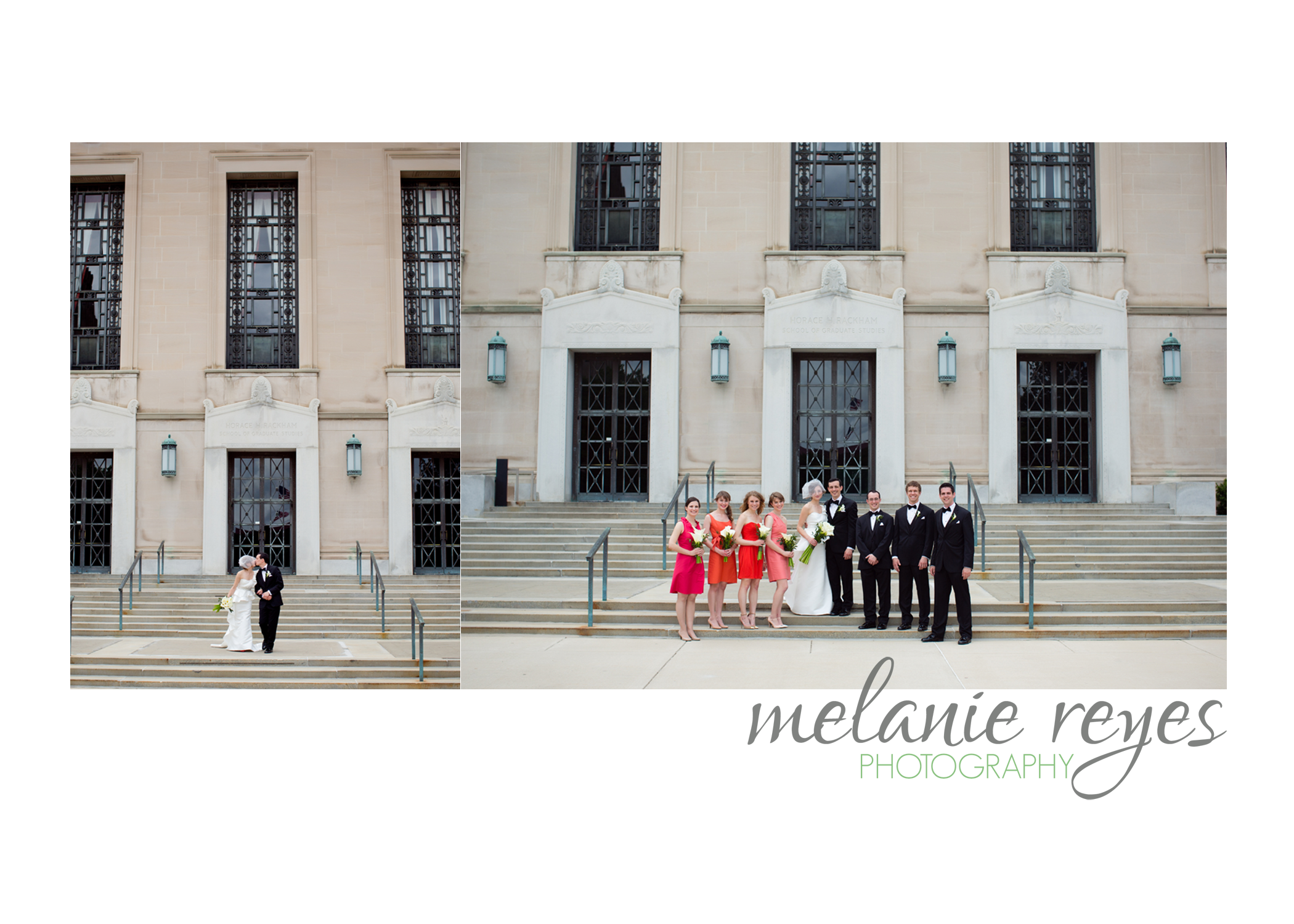 Bridal Party at Rackham