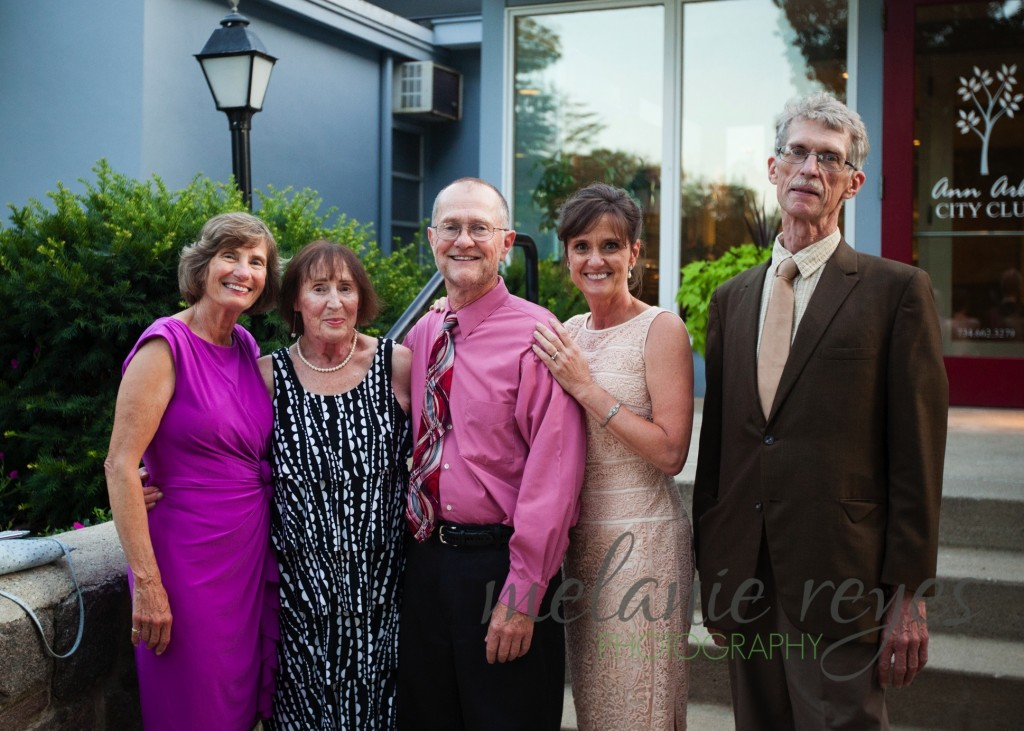 Siblings of Mother of the Bride at Ann Arbor City Club