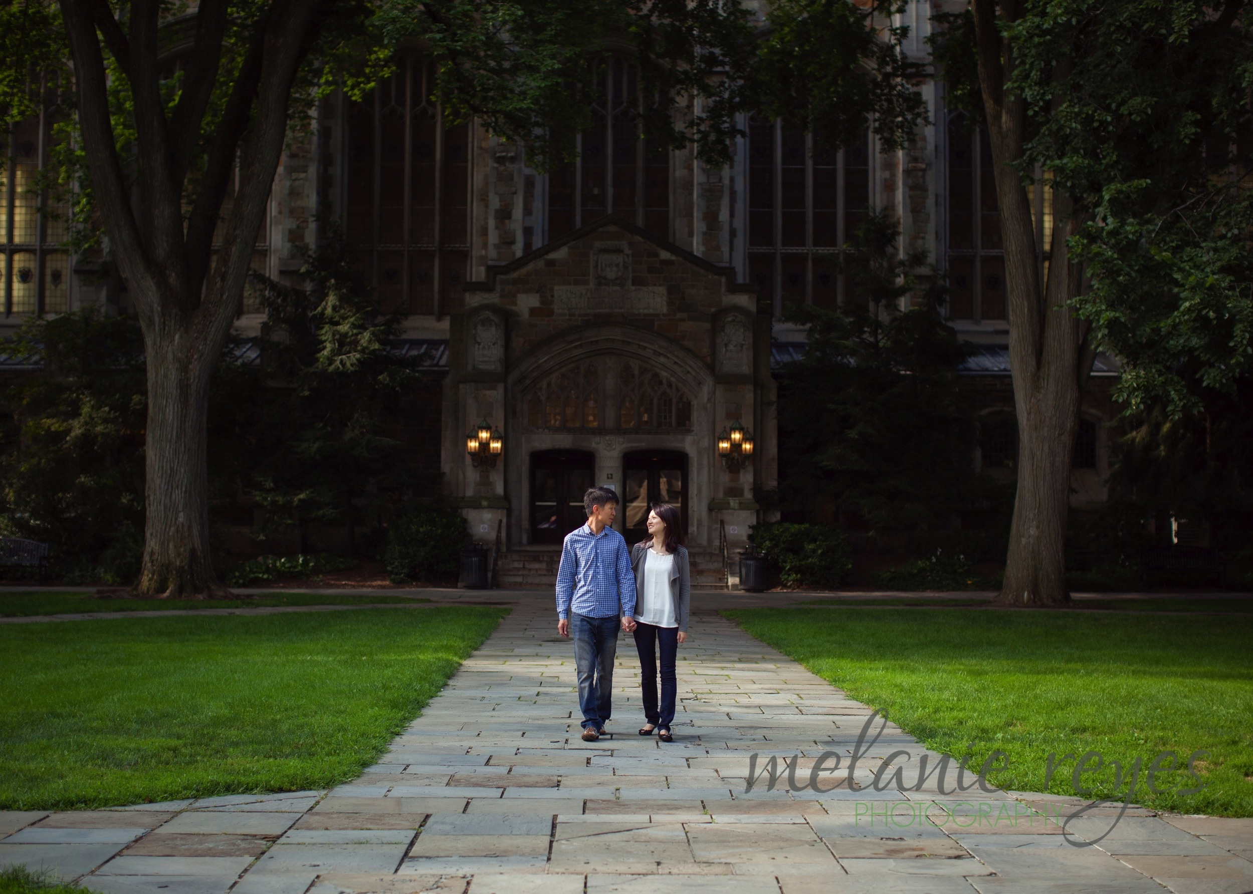 Engagement Session Law Quad