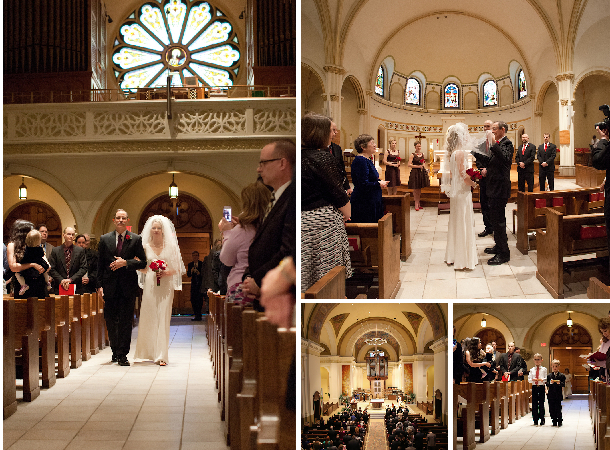 St Thomas Ann Arbor Wedding Photography