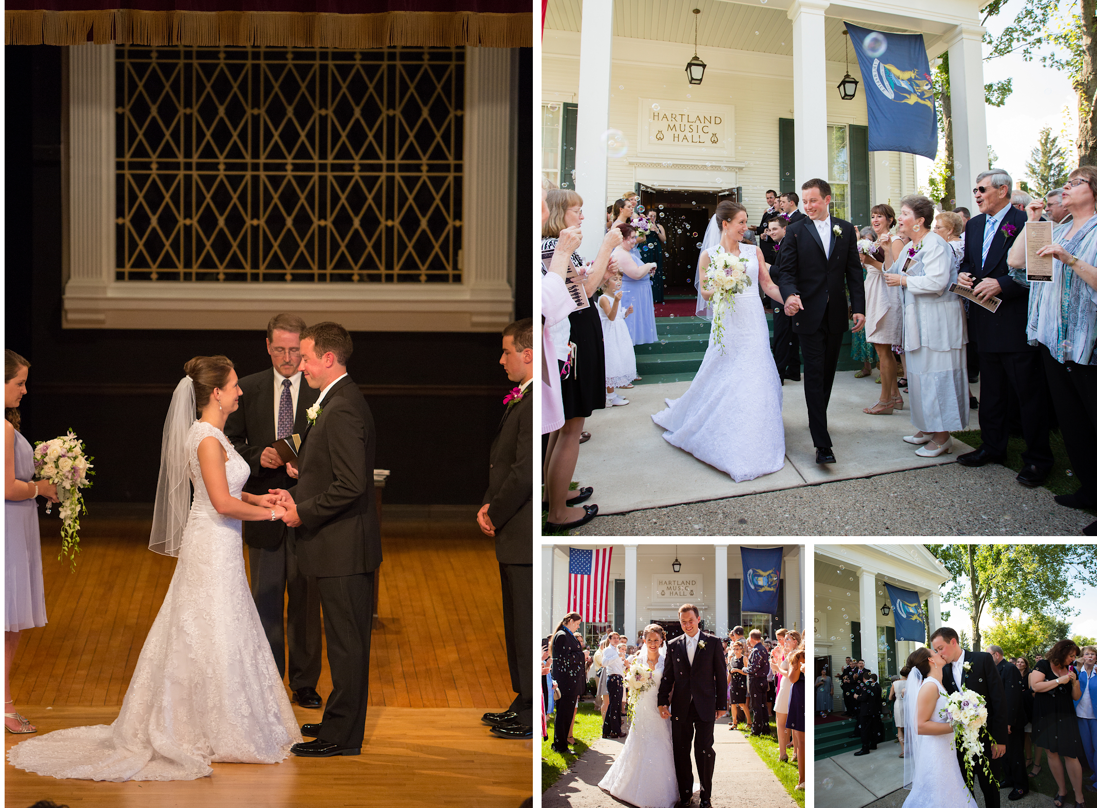 Music Hall Wedding Ceremony