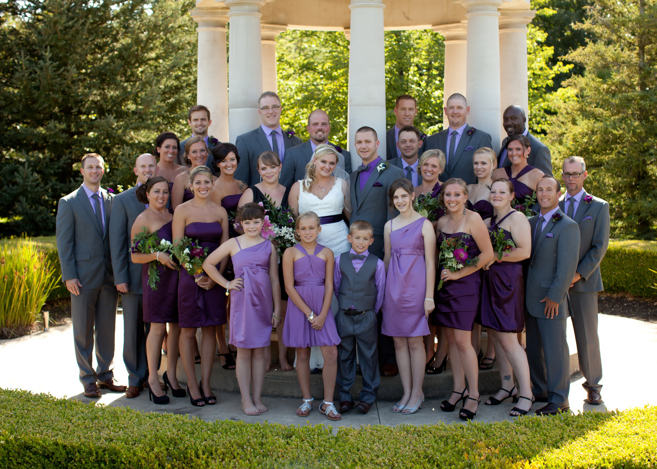 purple wedding details melanie reyes photography
