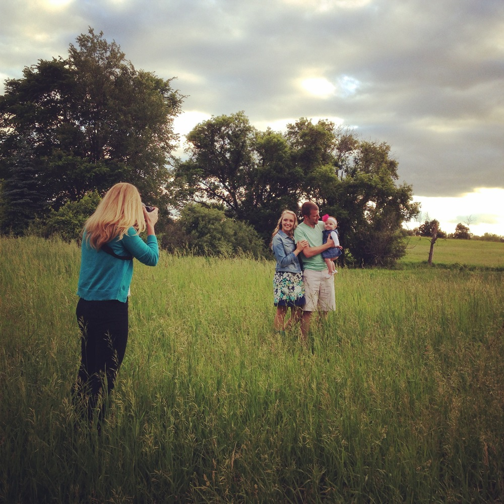 Shooting Portraits at White Oaks Farm with the sweetest little fam. Brandon, Chelsie, Charlee.
