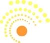 Dickinson's Sun Logo
