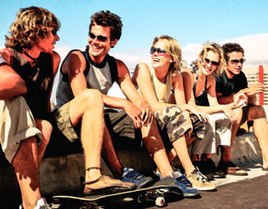 Photo of a group of young adults