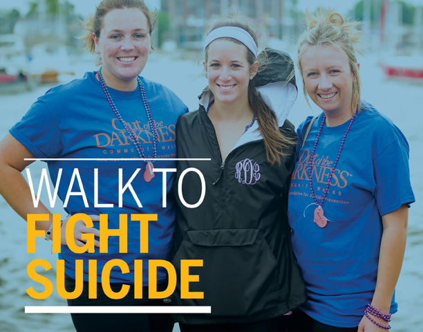 Walk to Fight Suicide promotional photo