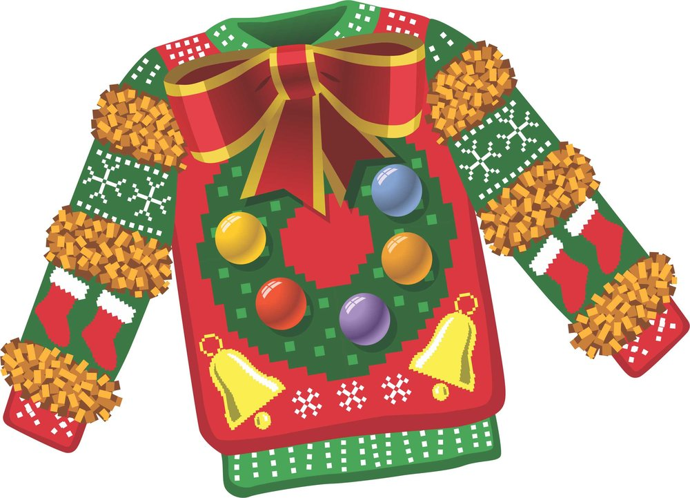 Graphic of Ugly Christmas Sweater