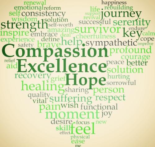 Trauma Informed Care Heart Logo