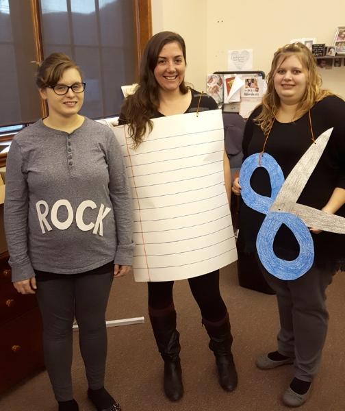 Rock/Paper/Scissors Costumes